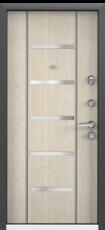 Дверь Torex Super Omega-10 Черный шелк RP1 Дуб бежевый RS1
