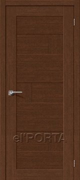 Дверь el'Porta Легно 38 Brown Oak еврошпон