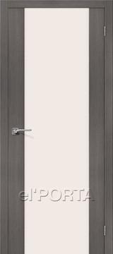Дверь el'Porta Порта X 13 Grey Veralinga экошпон