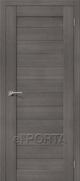 Дверь el'Porta Порта X 21 Grey Veralinga экошпон