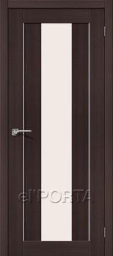 Дверь el'Porta Порта X 25 alu Wenge 3D-Graf