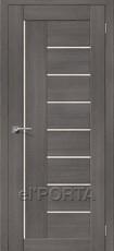 Дверь el'Porta Порта X 29 Grey 3D-Graf
